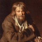 1872 Portrait of an Old Peasant (study)