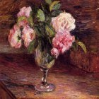 Roses in a Glass. (1877)