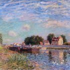 The Canal at Saint-Mammes