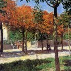 Caillebotte Gustave Square in Argenteuil Sun