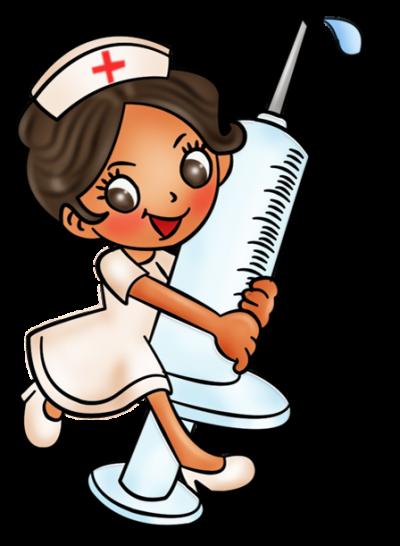 Картинка медсестры с уколом