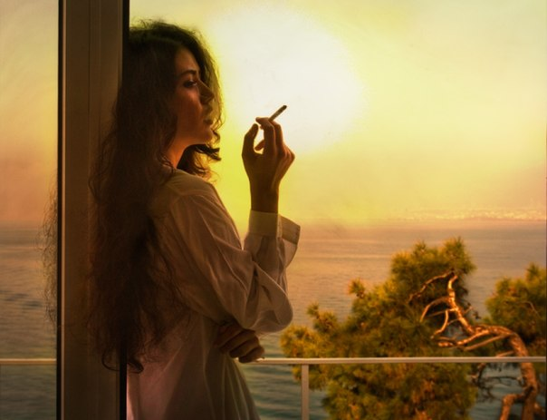 красивые фото одиночества девушек