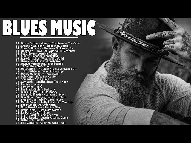 Смотреть видео Relaxing Blues Music | The Best Blues Songs Ever | Blues Rock Music