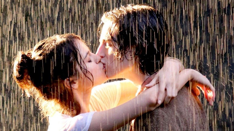 закону, картинка про поцелуй под дождем звёздная ночь художник