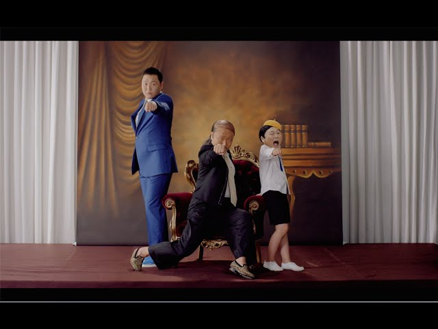 Смотреть видео PSY - DADDY(feat. CL of 2NE1) M/V