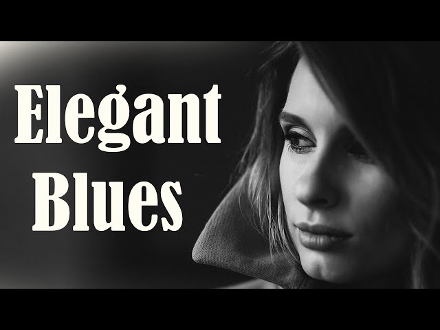 Смотреть видео Elegant Slow Blues - Exquisite Mood Blues Electric Guitar and Piano Background Music
