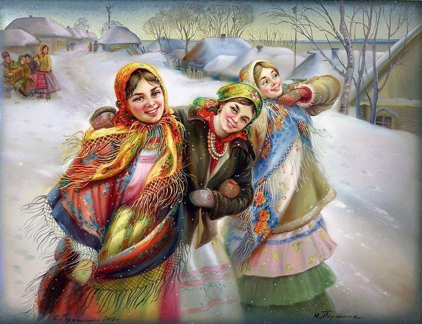 Приворот в Рождество Натальи Степановой. 275e75578756dfcd46a9da32a21fd708