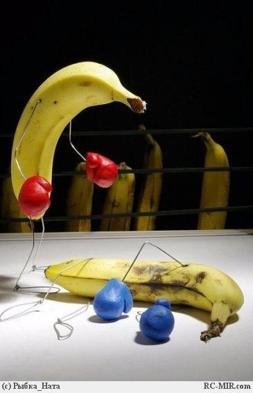 У тебя банан стих