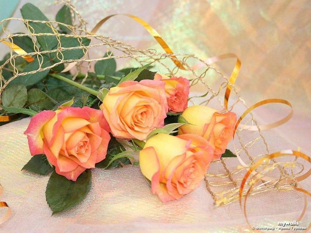 Открытки цветами, открытки удачного дня рождения