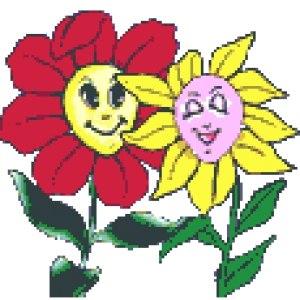 Картинка цветы для детей анимация