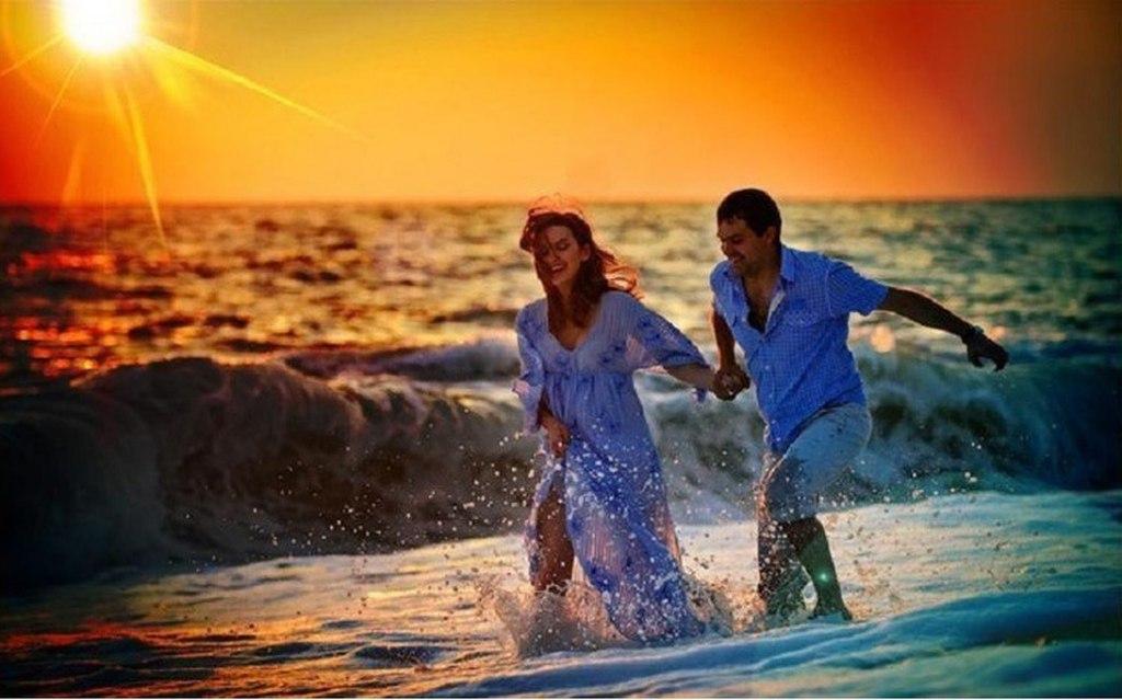 Любовь всей жизни море