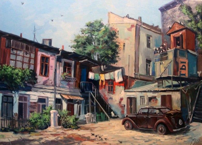 Картинки старый дворик