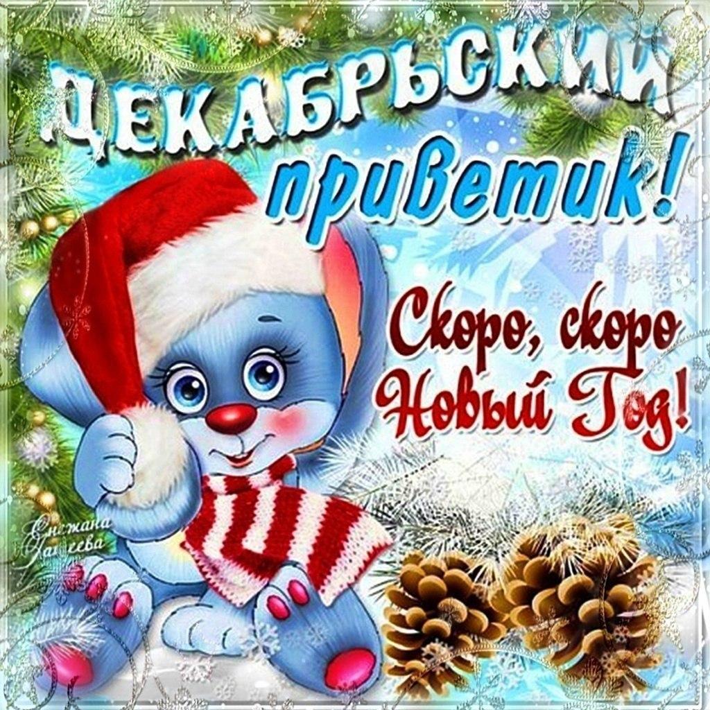 Новогодний привет картинки