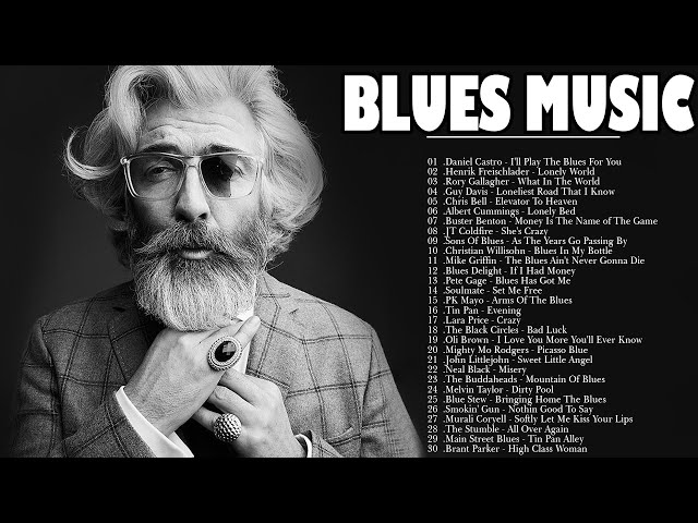 Смотреть видео Relaxing Blues Music | Best Blues Music Of All Time | Blues Rock Music