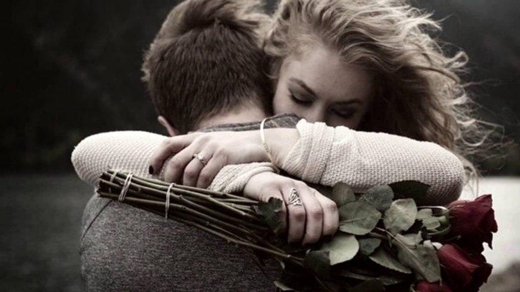 Фото с надписью любви не существует