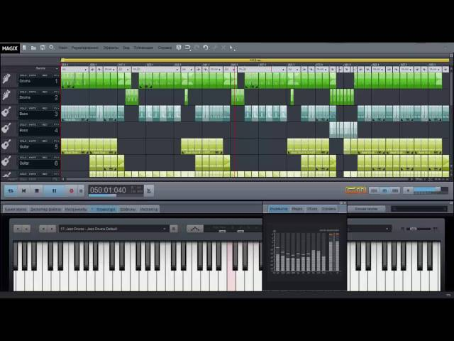 Смотреть видео Rock Music MAGIX Music Maker Lave 2016.