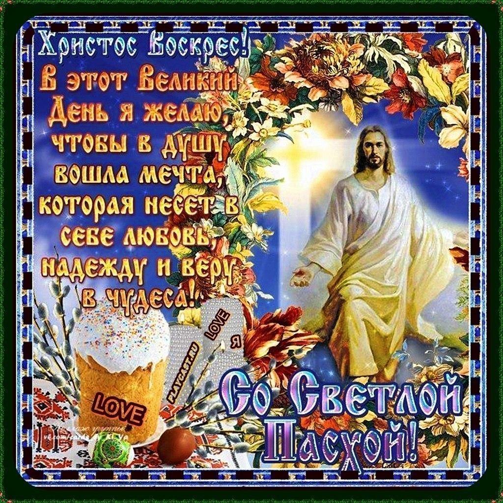 Поздравительные открытки для друзей и близких христос воскрес