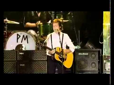 Смотреть видео Paul McCartney - Mrs.Vandebilt  Live