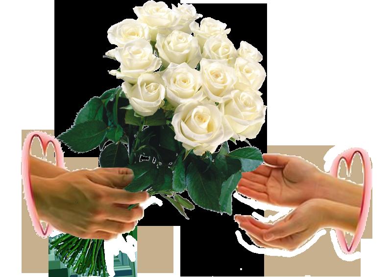 Открытки дарю тебе цветы