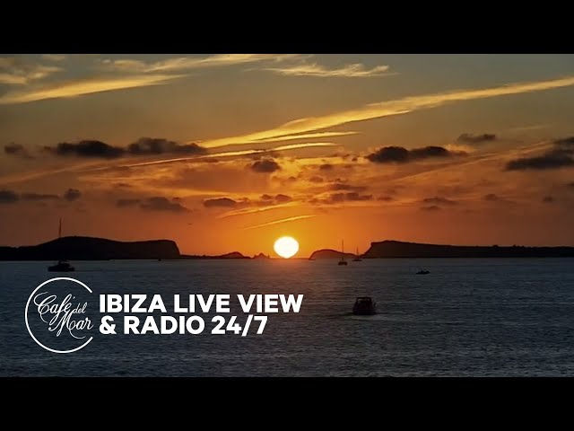Смотреть видео Café del Mar Chill Radio & Ibiza Webcam • Live Stream 24/7