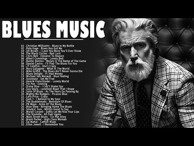 Смотреть видео Relax Blues Music | Blues Song Of All Time | Best Blues Mix