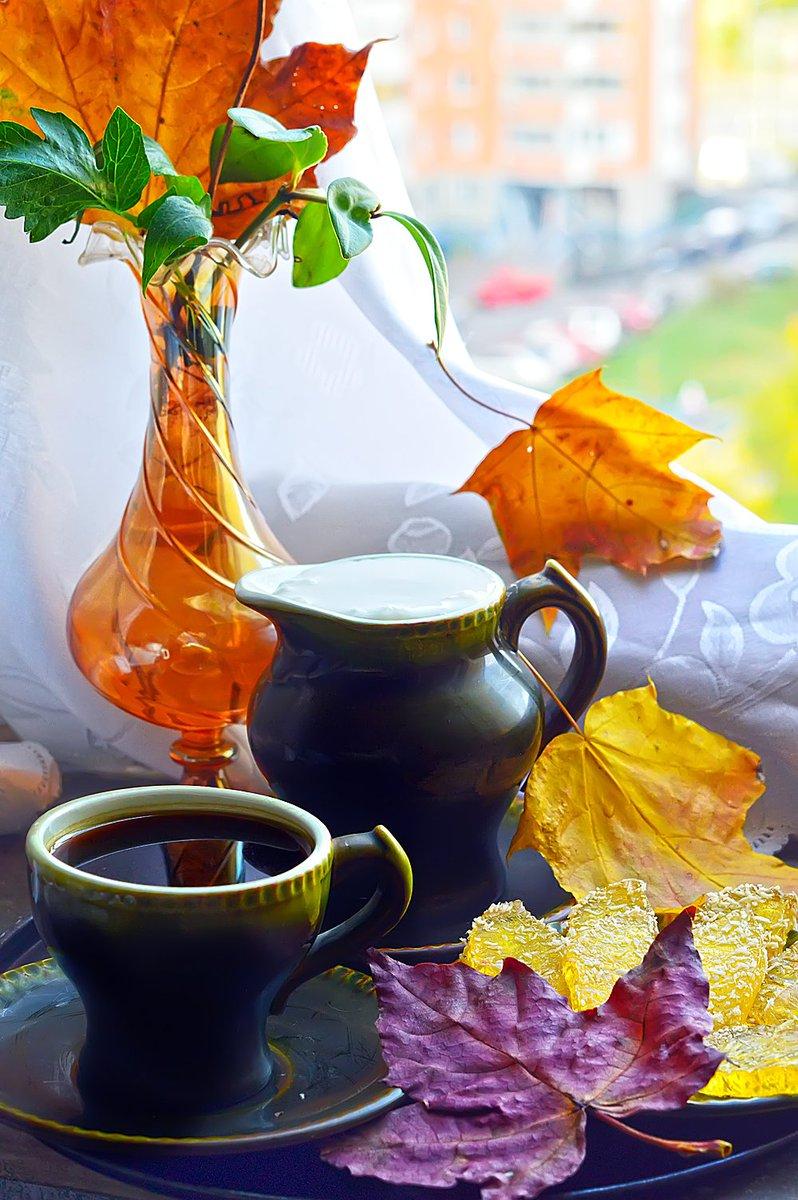 своим открытки осеннее утро с кофе изображения пропали
