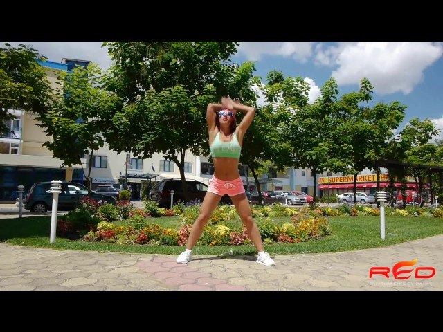 Смотреть видео Christina Aguilera - Your Body (DJ Kue Remix) | Zumba Fitness | WARM UP