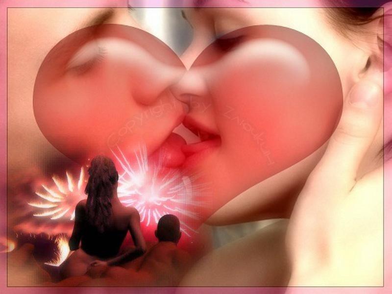 поцелуи груди фото