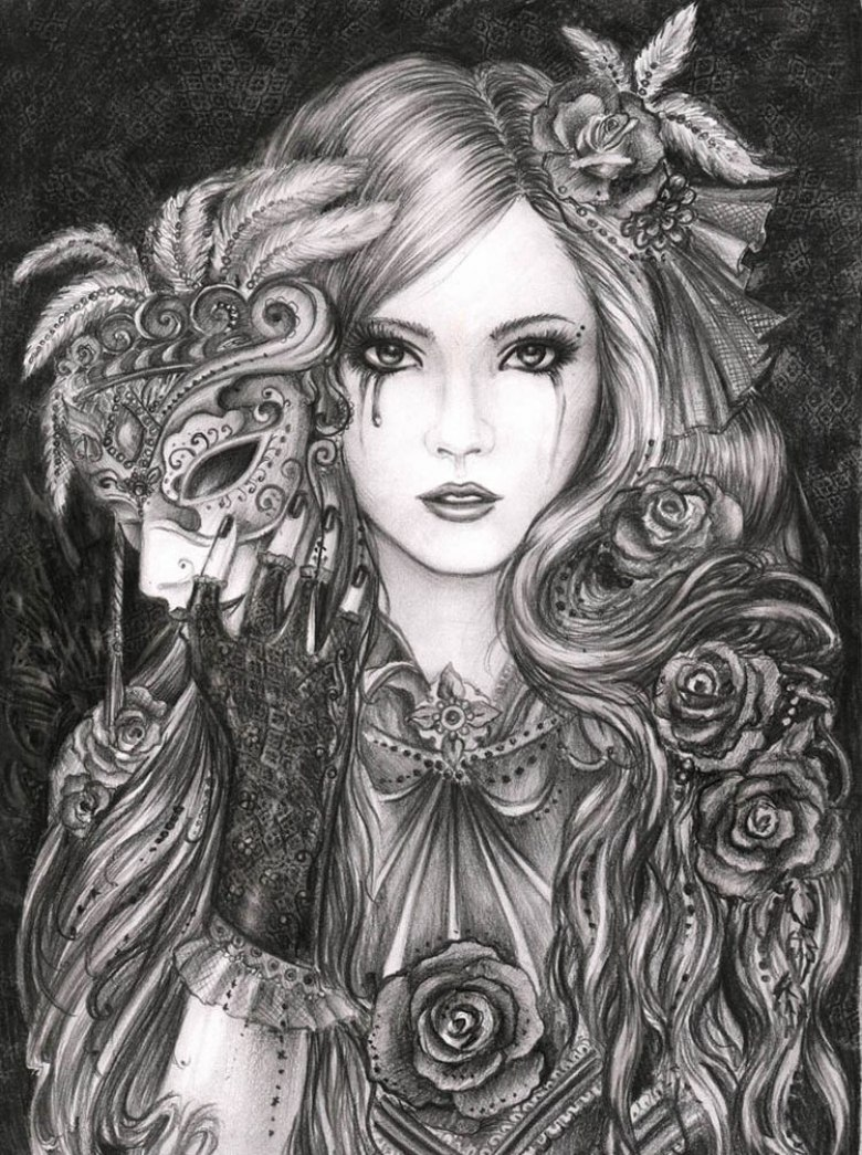 Картинки в готическом стиле рисунки