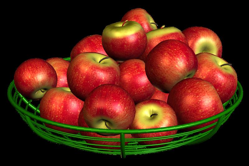 Анимация с яблоками