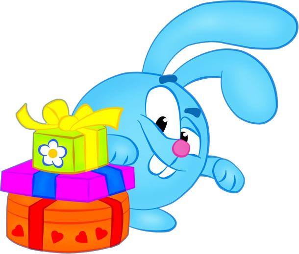 Детские картинки смешарики с днем рождения