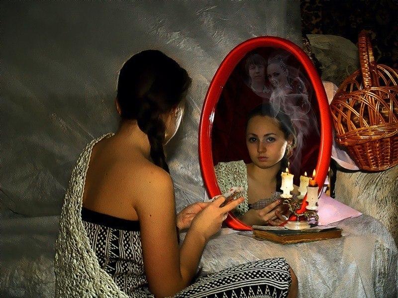 привороты заговоры в зеркало