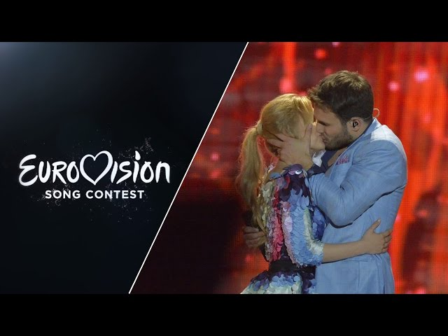 �������� ����� Monika Linkytė and Vaidas Baumila - This Time (Lithuania) - LIVE at Eurovision 2015: Semi-Final 2