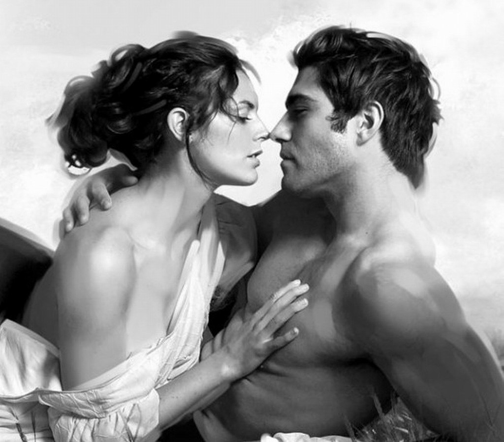 Картинки нежности и страсти между мужчиной
