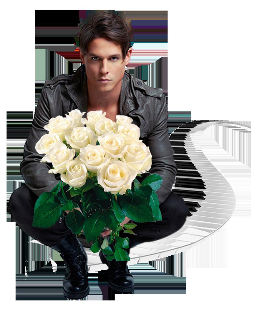 Букеты роз, картинка с цветами для мужчины с днем рождения