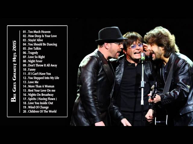 Смотреть видео Bee Gees greatest hits full album 2015 - the best of Bee Gees HQ