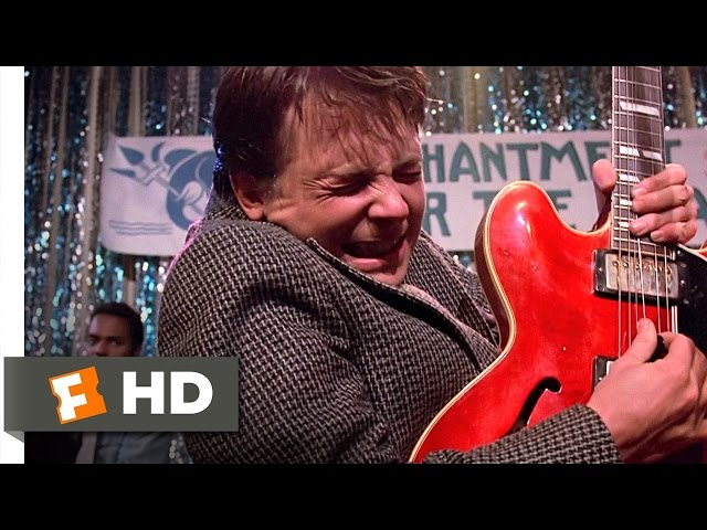Смотреть видео Johnny B. Goode - Back to the Future (9/10) Movie CLIP (1985) HD