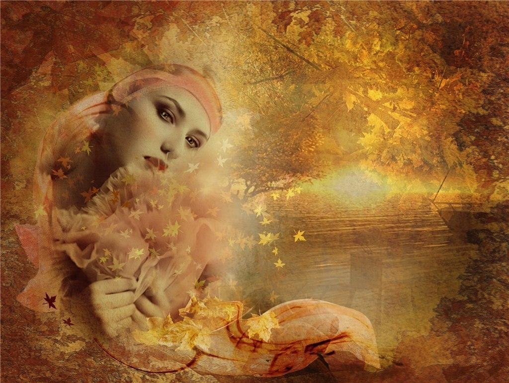 Картинки, открытка про осень про грусть